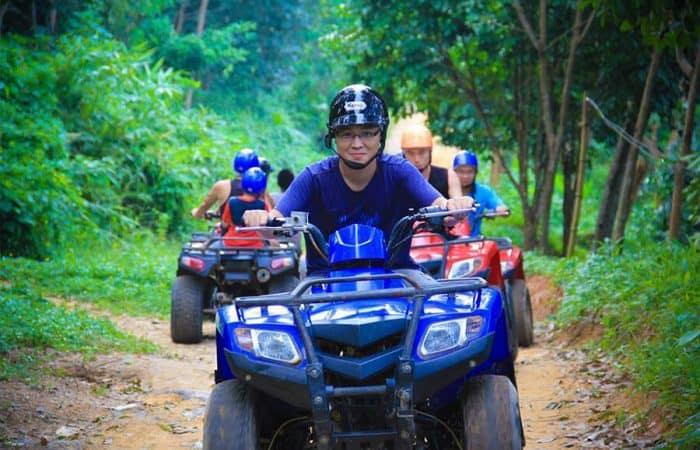 Phuket ATV & City Tour